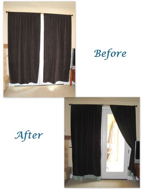 hemming curtains with tape making the moment matter adding length to curtains with
