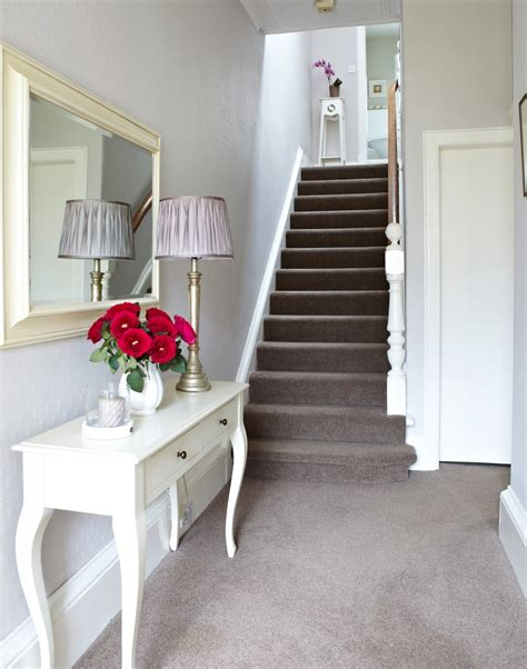 white bedroom carpet hallway with white walls and neutral carpet the room