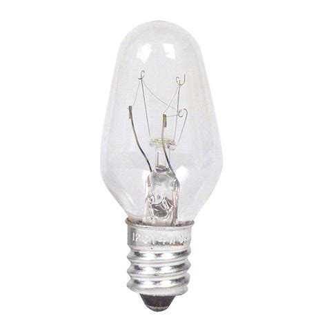 c7 light bulb base philips 7 watt incandescent clear c7 indicator candelabra