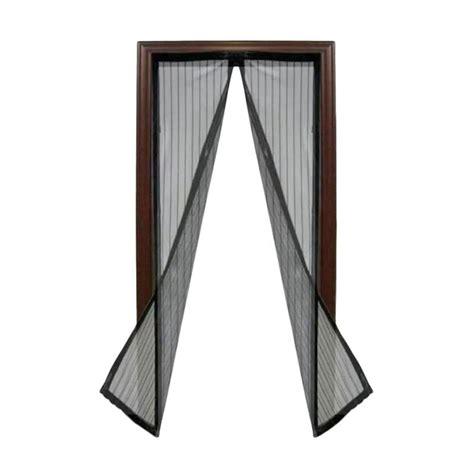 Tirai Pintu Modernteralistirai Magnettirai Kelambu jual aimons magic mesh tirai pintu magnet kelambu anti nyamuk hitam harga kualitas