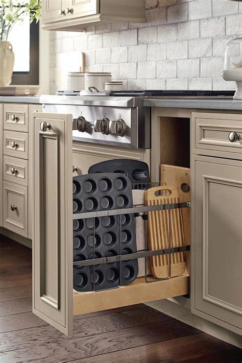base tray divider pantry pull  cabinet decora