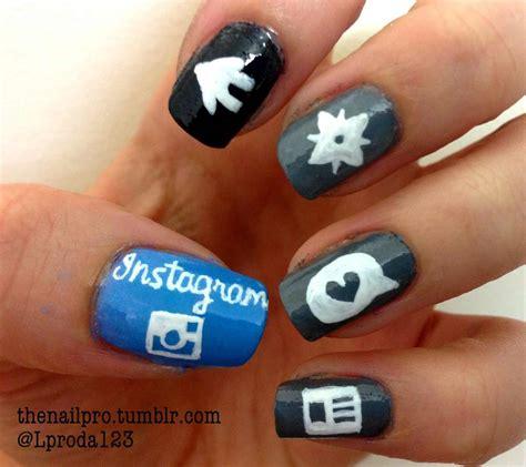 nail design instagram videos instagram nails nail art photo 35016632 fanpop