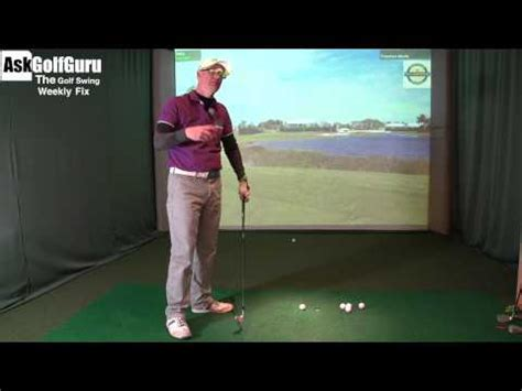 golf swing plane drill the 15 minute swing the golf swing weekly fix upright swing plane and weight