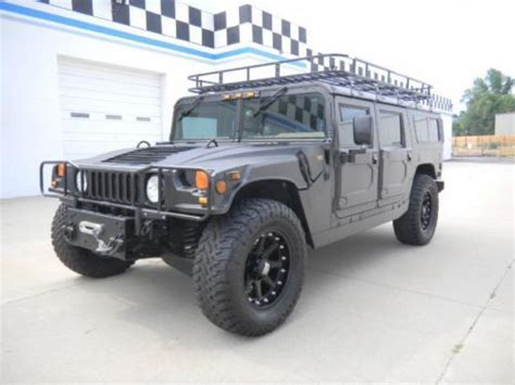 how can i learn about cars 1999 hummer h1 free book repair manuals buy used 1999 am general hummer in arvada colorado united states
