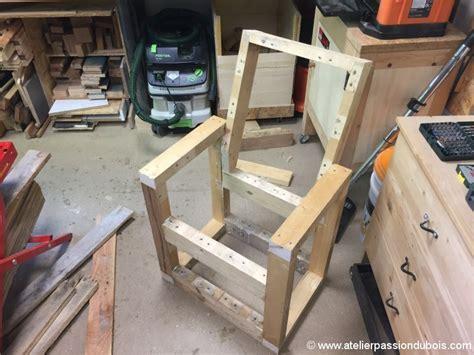 Fauteuil Bois 3544 r 233 alisation d un fauteuil en bois de palette atelier