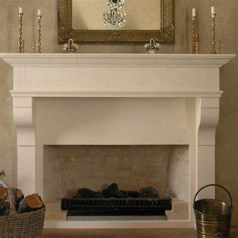 Provincial Fireplaces by Large Provincial Mantle Carved In Oamaru Limestone Loggia Outdoor Fireplace Designs