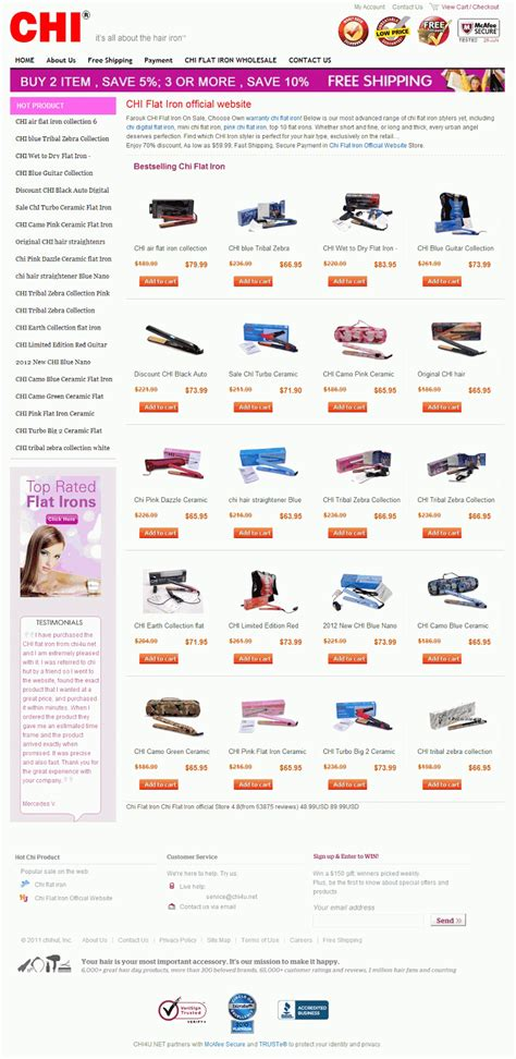 official chi hair products website chi flat iron official website sale chi volumizer ceramic