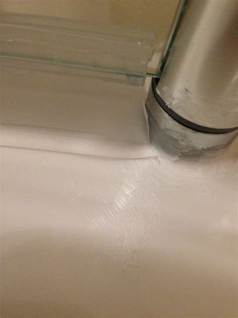 Shower Door Leaking Leaking Shower Seal Diynot Forums
