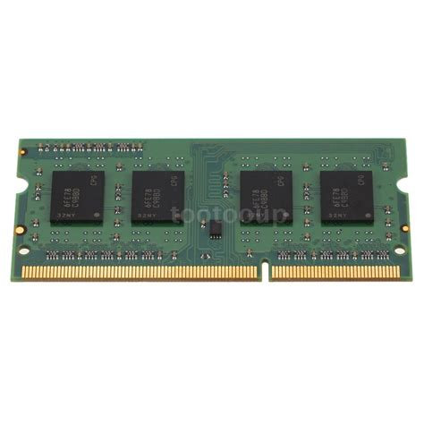 Memory Notebook Ddr3 ct51264bf160bj crucial 4gb ddr3 cl11 204 pin sodimm notebook laptop memory ram ebay
