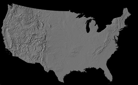 us topographic map earth maps us map from space