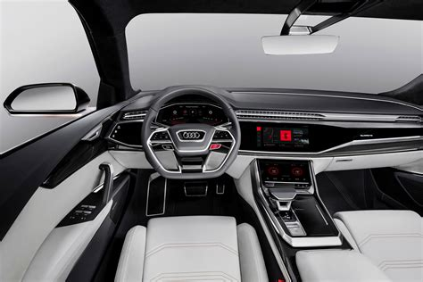 wallpaper audi q8 2018 cars interior 4k cars bikes