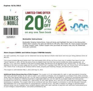 Check Value Of Barnes And Noble Gift Card - 23 best images about free printable coupons on pinterest abercrombie kids starbucks