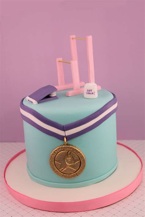 This Cake Received A Gold Medal At The Cake International - gymnastics cake 187 layered