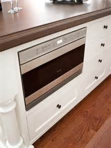 kitchen island with microwave drawer 34 best images about microwave drawer on