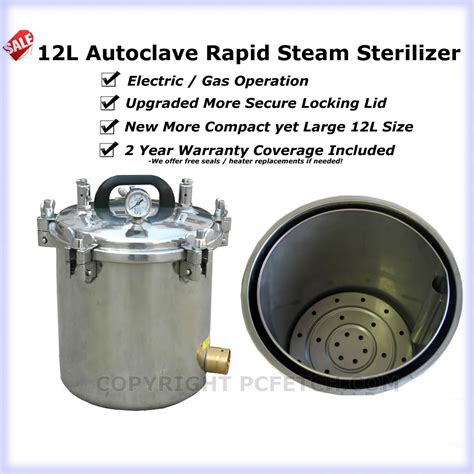 tattoo autoclave 12l portable autoclave steam sterilizer dental