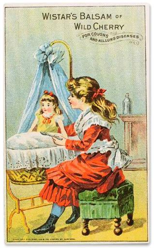 the china doll kingston trade cards treating dollys cough