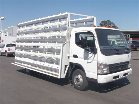Glass Rack Truck by Mitsubishi Fuso Fe140 Glass Rack Truck Autos