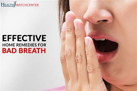 effective home remedies for bad breath health center