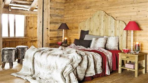 deco chambre style chalet d 233 co chambre style chalet