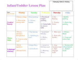 lesson plan template for toddlers bill of lading free