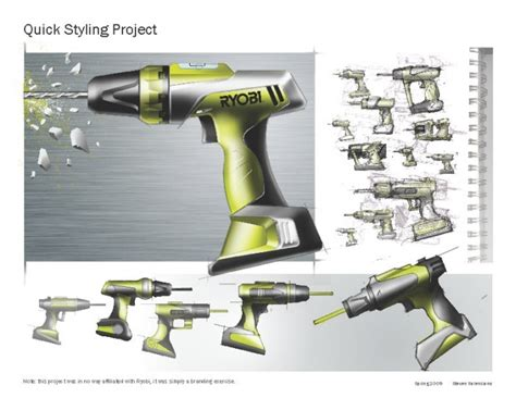 design concept of a powered hand tool 17 best images about design sketching on pinterest