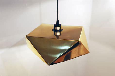 Origami Lighting - origami light by valo nobue kamahara shaped by folds