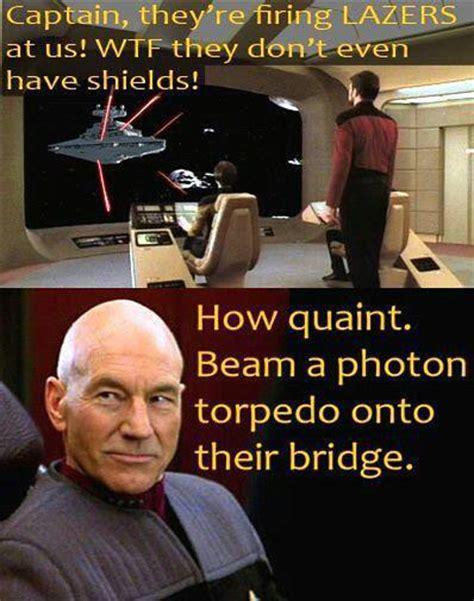 Star Wars Star Trek Meme - meme wars the trek bbs