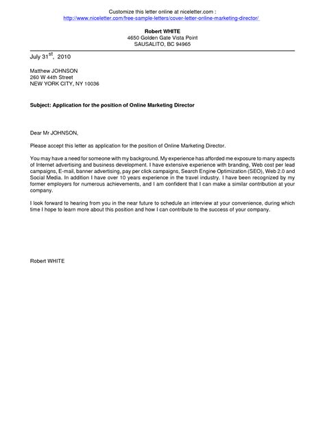 Cover Letter For Customer Service Officer Sle Of Cover Letter For Application