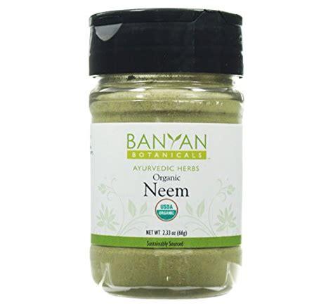 Kapha Detox Banyan by Banyan Botanicals Neem Powder Certified Organic Spice