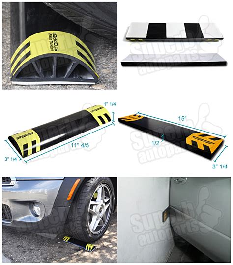 Garage Bumper Stops by Car Stop Parking Assist Stopper Door Bumper Garage Wall