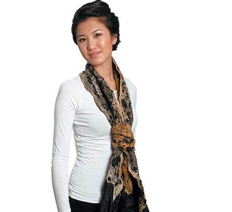 trendy ways to carry pashmina for 2014 adworks pk