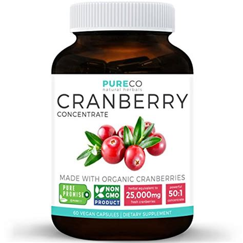 Cranberry Concentrate Pills Detox organic cranberry concentrate 25 000mg of fresh