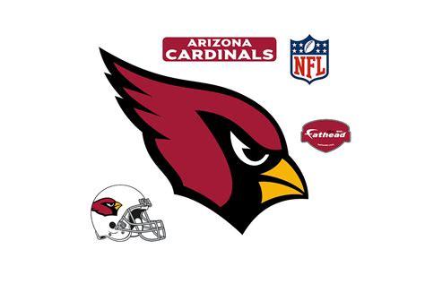 arizona cardinals logo wall decal shop fathead 174 for