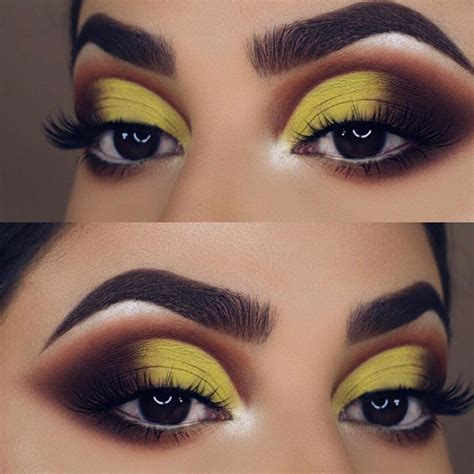 Valege Eye Shadow Brown Yellow 36 fabulous looks for brown to pull makeupjournal