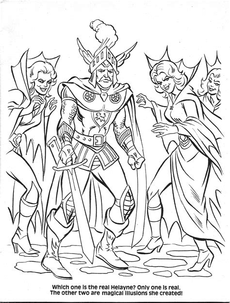 coloring pages dungeons and dragons elf dungeons and dragons coloring pages coloring pages