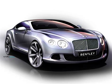 bentley coupe bentley continental gt 2010 supercar sketches