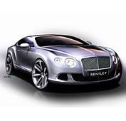 Bentley Continental GT 2010  Supercar Sketches