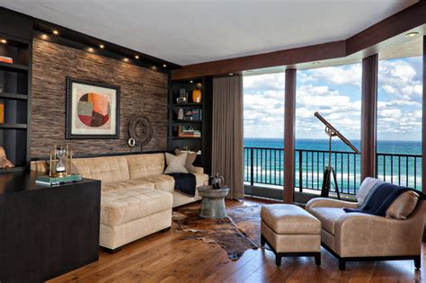media lounge contemporary living room miami by