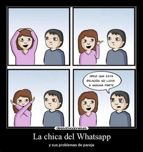 imagenes wasap chicas la chica del whatsapp desmotivaciones
