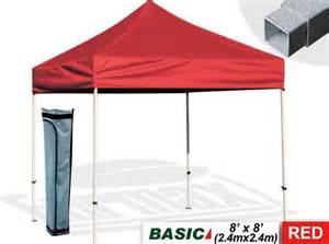 8x8 Easy Up Canopy by New Basic 8x8 Ez Pop Up Canopy Uv Protect Beach Camping