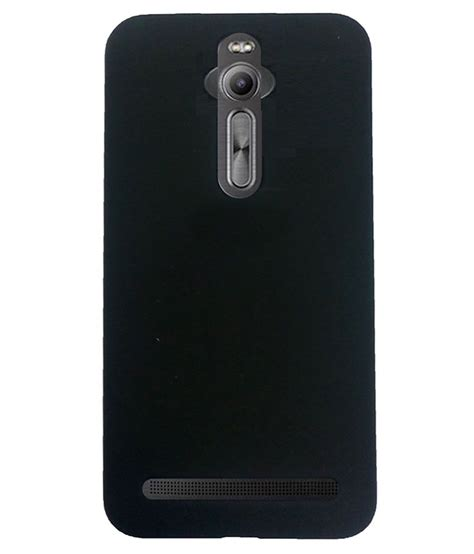 Backdoorback Cover Asus Zenfone 255 icopertina back cover for asus zenfone 2 laser ze500kl 5 5 black plain back covers at