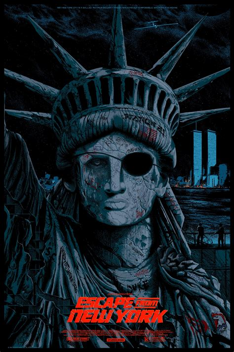 Poster Escape From New York 30x40cm escape from new york poster www pixshark images