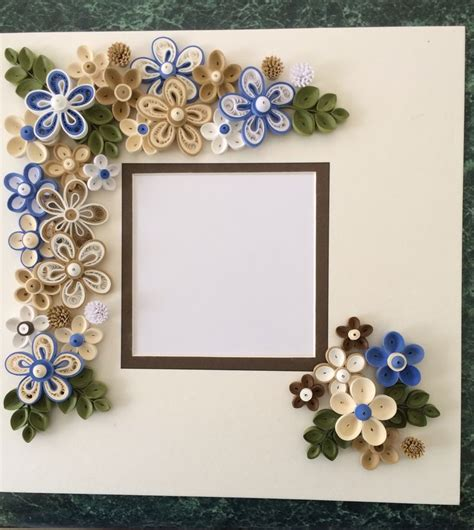 quilling design frame quilled frame for shadow box by ginny huff my quilled