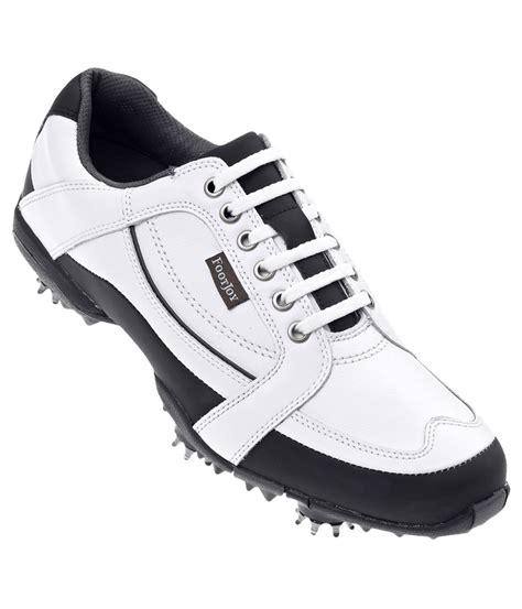 footjoy mens golf shoes white black golfonline