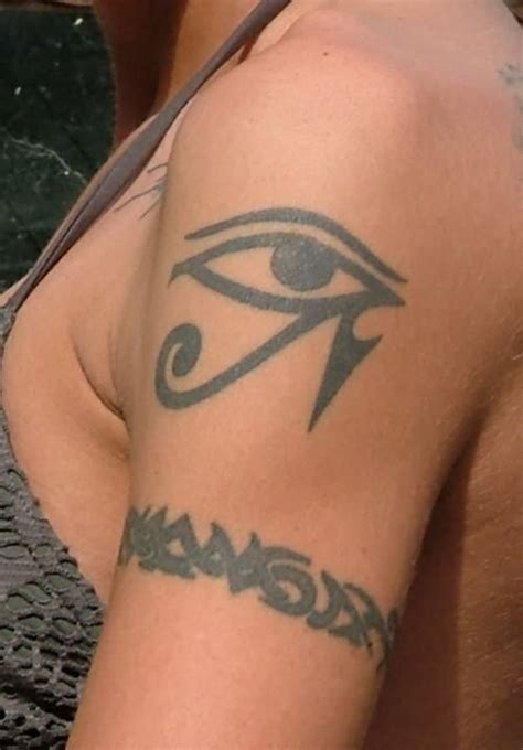 eye tribal tattoo tribal band and eye