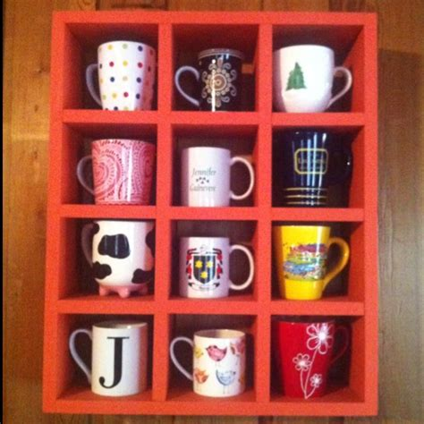 Shelf For Coffee Mugs coffee mug display shelf for the home
