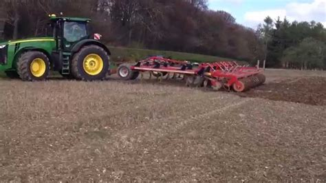 Jd S Or Mba S Make More Are Happier by Deere 8370r And 7 Metre Horsch Terrano Demonstration