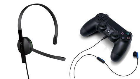 Original Mono Headset Wired Earphone For Ps4 Headphone Headset Murah the xbox one vs ps4 headset war begins kotaku australia