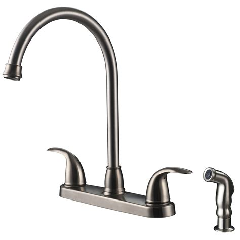 single handle kitchen faucet with sprayer vantage collection single handle kitchen faucet with