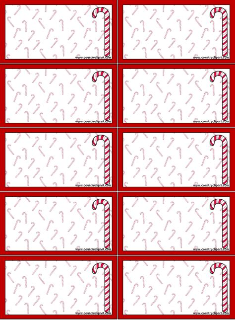 printable christmas recipe tags recipe cards shopping lists gift tags and to do lists to